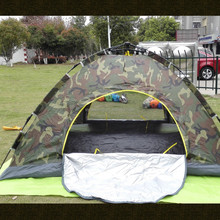 Camping camouflage pattern tent