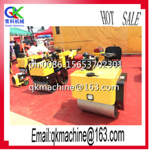 Electromagnetic clutch to control vibration Road Roller