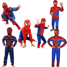 Factory Adult/Kids spiderman costume