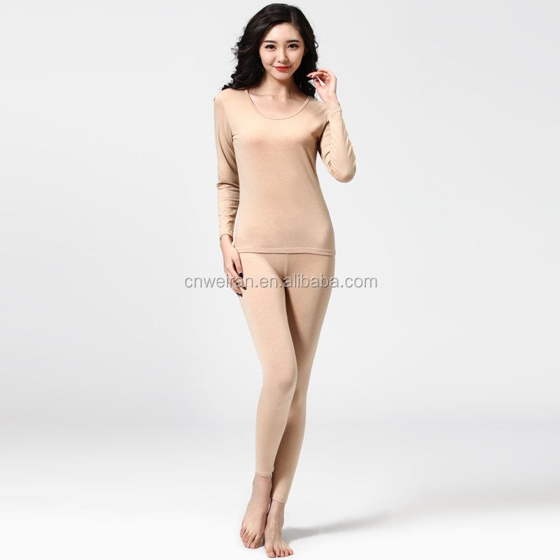 Wholesale OEM Plus Size cotton Thin Thermal Slimmimg Winter Thermal Underwear suit,long johns