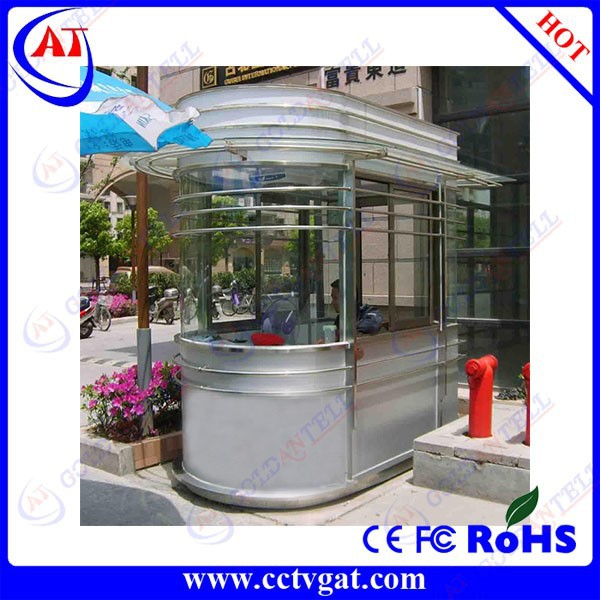 Goldantell stainless steel guard room,Stainless steel guard house,security modular sentry box