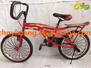 20inch Red Steel light street freestyle BMX bike with original