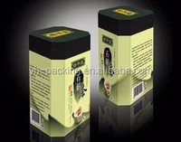 FDA Top grade new design tea packaging tin box/tin container for gift/tea/coffee