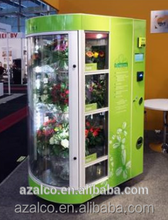 Professional automatic coin bill acceptor flower vending machine