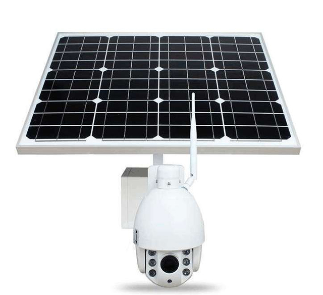 New 960P 4G WIFI IP Camera with 60W Mono Solar power panel 26Ah12V lithium battery HI3518E wireless security camera