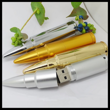 Metal bullet USB Flash disk creative bullet USB flash drive
