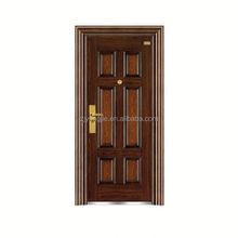 China alibaba security commercial double steel doors