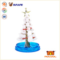 DIY children toy, christmas tress educational kids toys, magic crystal growing paper for christmas decoration