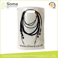 Ample supply and prompt delivery new products well printed die cut plastic bag