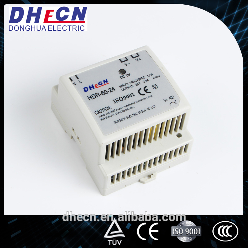 DHECN atx switching power supplyt30 (HDR-60-24)