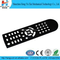 Silicone rubber remote control plastic case via plastics mould design
