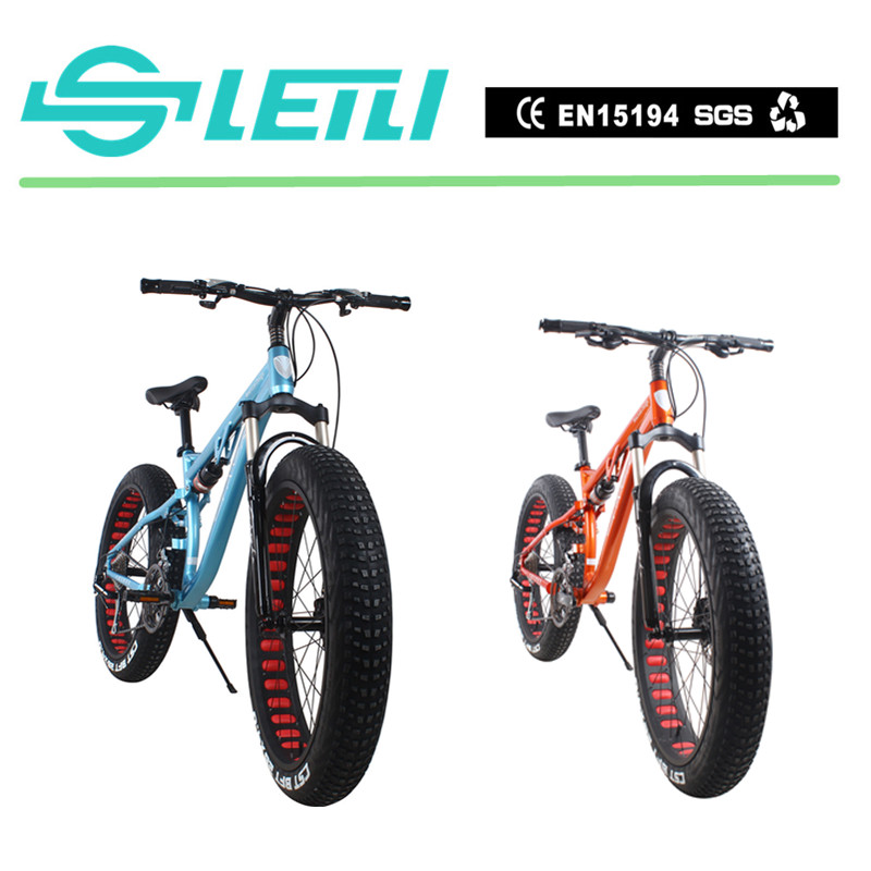 Custom full suspension fat tire cycles for men