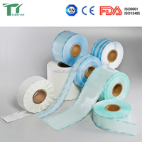 Medical Bur Lateral shear packing Heat-sealing flat roll pouch