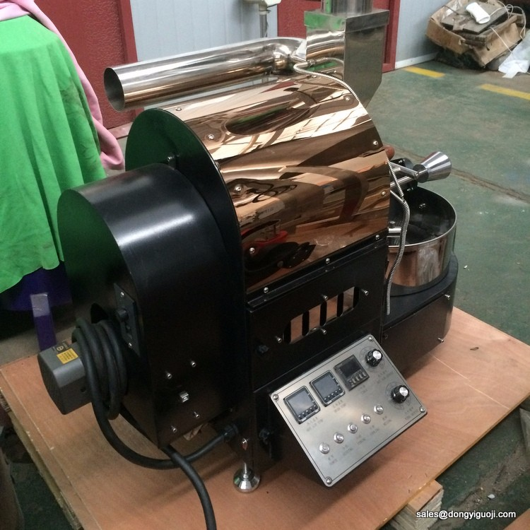 1kg 2kg capacity commercial probat coffee roaster machine with USB date logger