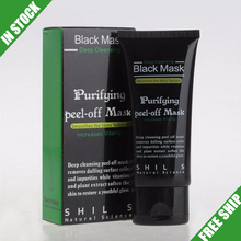 Free Shipping SHILLS Deep Cleansing Blackhead Remove Peel Off Charcoal Black Mask