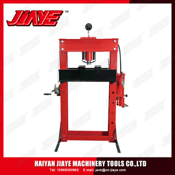 Hydraulic Shop Press with Gauge with CE Approval