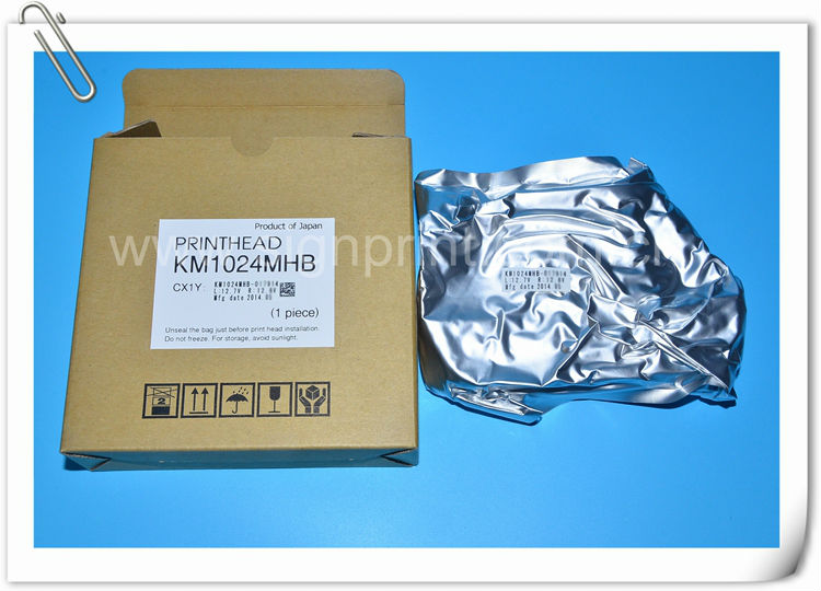 Original Konica 1024/14PL UV print head KM1024MHB for inkjet UV printer
