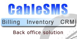 Web based Cable SMS - Subscriber Management System - Finance & Billing Solution