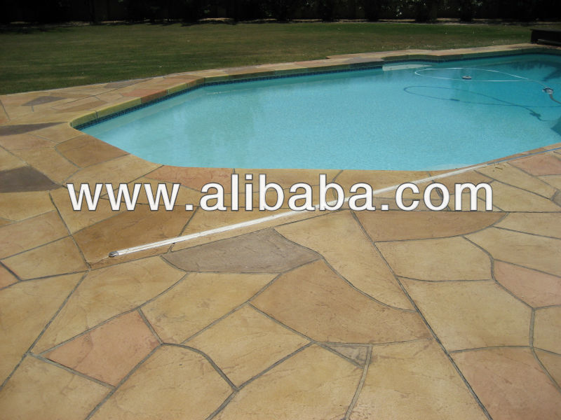Fluid Stone Limestone 90 Cool Coat Concrete Overlay - Natural Stone & Tile Alternative for Walls/Floors