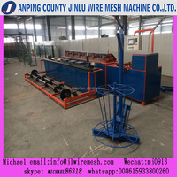 automatic double mould chain link fencing machine
