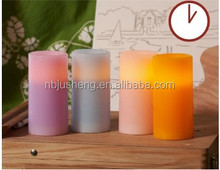 Flameless LED CANDLE with timer ---JSL2011