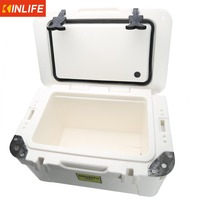 Plastic outdoor picnic ice 25 l cooler box
