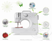 FHSM-505,New Home Multi Purpose Sewing Machine with 8 Built-In Stitch Patterns Needle Serger