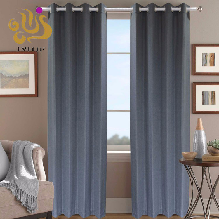 Customized latest curtain designs blackout curtain upholstery luxury window curtain