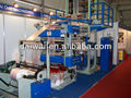 Film blowing printing machine with Double Winder and Embossing Roller
