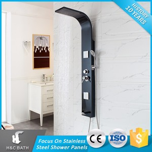 Chinese Product Bath Massage Shower Column Jet Comfortable Shower Faucets Cheap Shower Panel
