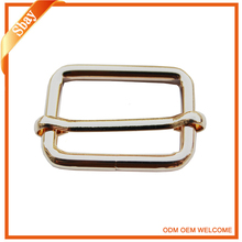Fashion metal square rhinestone pin buckle belt buckle