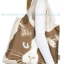 2015 newest 190T nylon foldable shopping bags