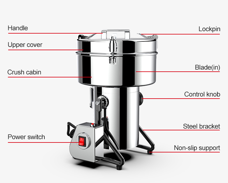 electric grain grinder flour mil machinery coffee grinder machine flour mill price