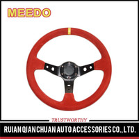 wholesale racing 3 spokes factory steering wheels for cars