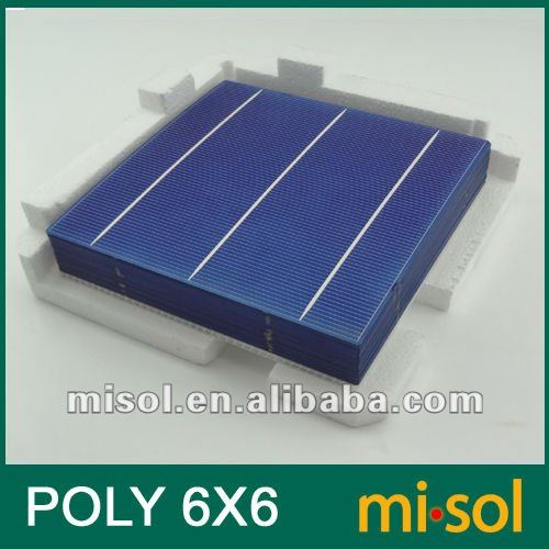 POLY Cell 6x6 for DIY solar panel, polycrystalline cell, solar cell