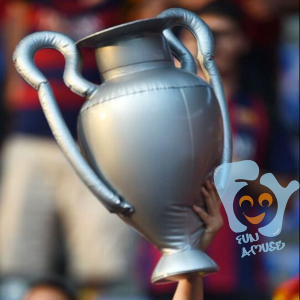 hot sale pvc inflatable uefa champions league trophy cup