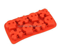 Amazon hot selling FDA Silicone Skull and Cross Bone Shape Mold/tray - Good for Baking, Cooking and Molding!