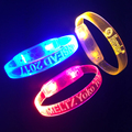 Free Samples Led Party Supplies Custom Sound Activated Concert Light Up Bracelets