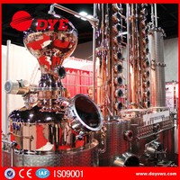 commercial spirit gin rum distiller alcohol distillation equipment