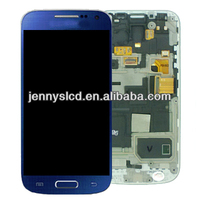 Original lcd complete for samsung s4 mini lcd digitizer blue