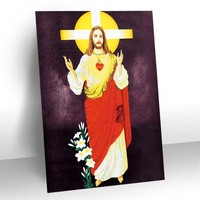 islam jesus image 3d picture with lenticular material