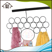 NBRSC Steel Scarf Tie Belt Loop Hanger Holder Rack Organizer Closet Storage