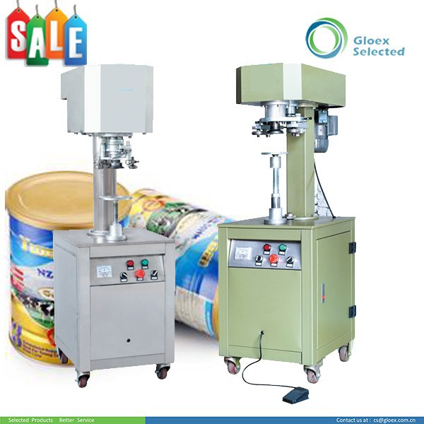 Semi-Automatic safety efficient Convenient Round shape can tin can sealing machine