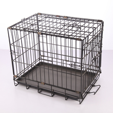 Top quality folding fabric dog crate with wheels