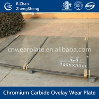 Best quality high hardness wear plate used on hopper coal fired power made in china