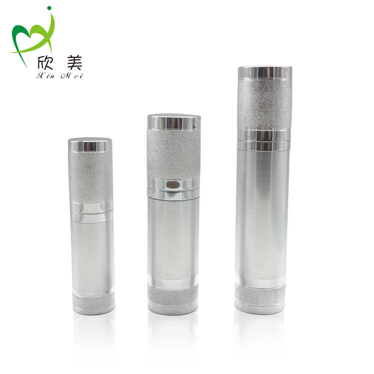 Total quality controlled plastic 10ml 15ml 20ml 30ml 50ml 100ml 250ml small luxury cosmetic airless bottle for lotion