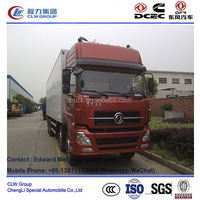 Dongfeng 8*4 type 9 m~ 10 m small refrigerated van