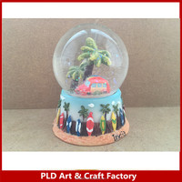 Custom Resin City Tower Water Snow Globe