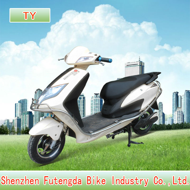 2013 new chopper hydraulic fork electric motorcycl with 800 w brushless hub motor comfortable seat carry two rider