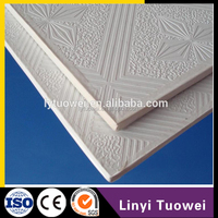 Perfect And Good Quality pvc lamination gypsum wall ceiling tiles